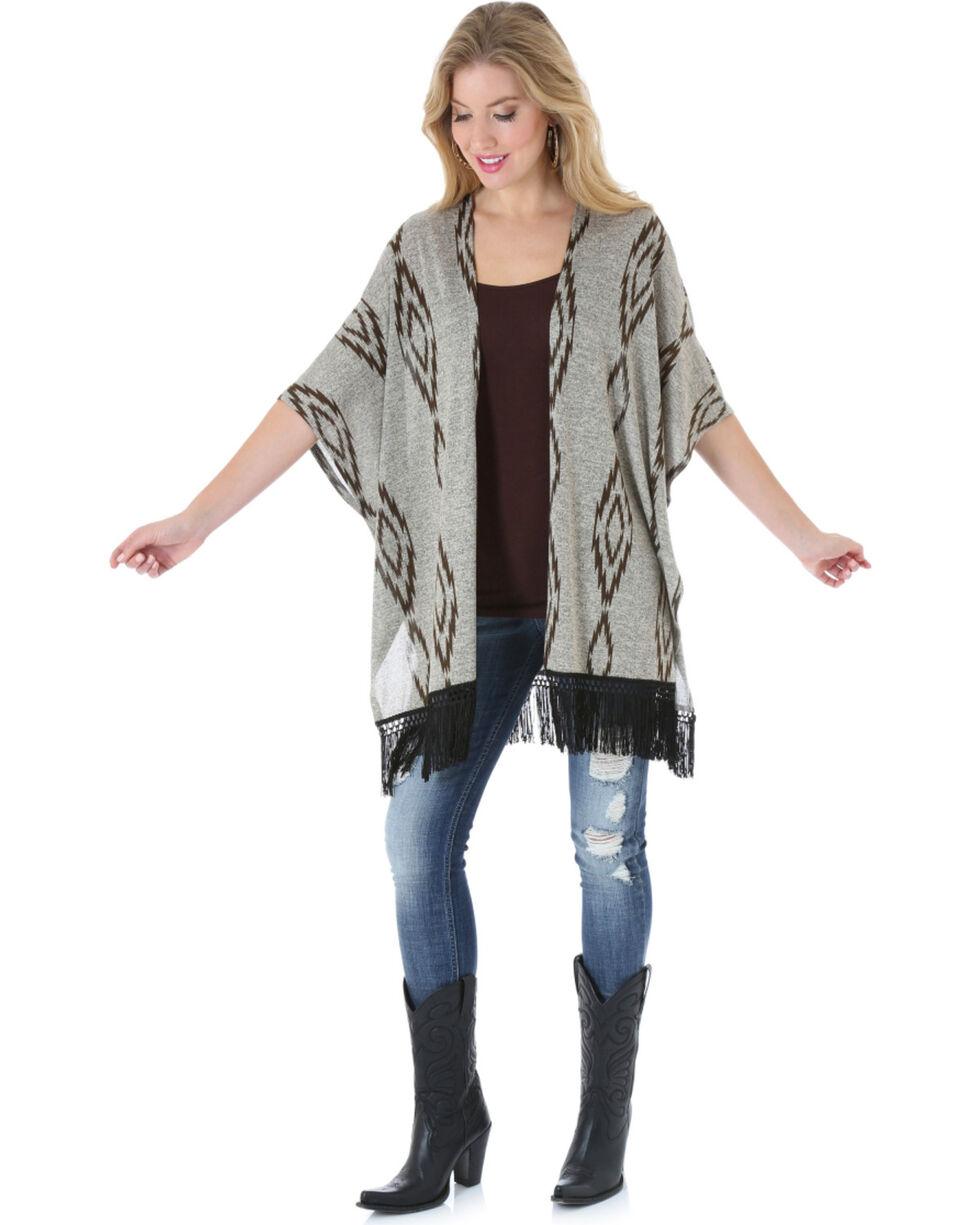Wrangler Rock 47 Women's Aztec Kimono , , hi-res