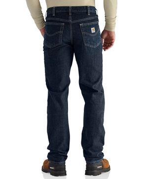 Carhartt Men's Flame Resistant RuggedFlex Traditional Fit Jeans - Big & Tall, Indigo, hi-res