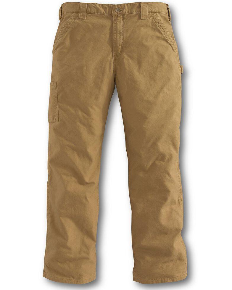 Carhartt Canvas Dungaree Work Pants, Khaki, hi-res