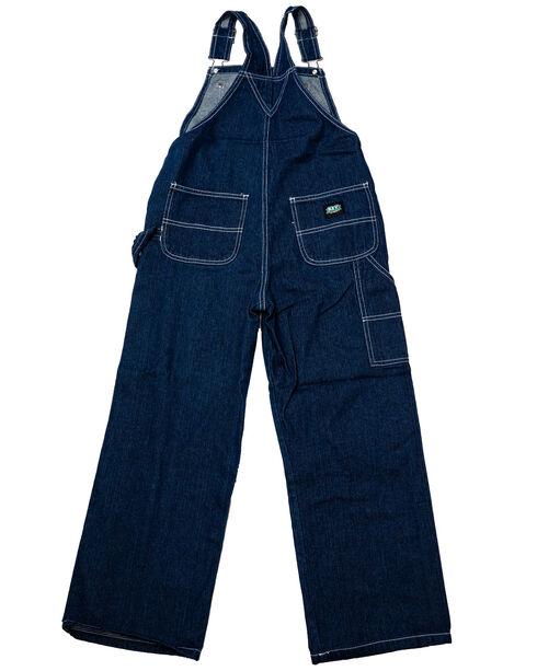 Key Industries Boys' Denim Overalls - 8-16, Denim, hi-res