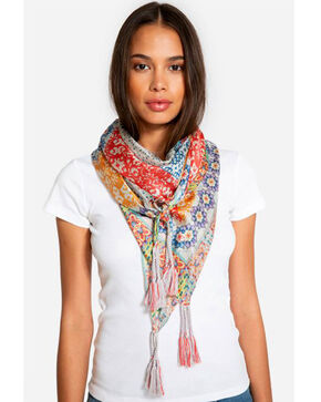 Johnny Was Women's Titly Silk Scarf, Multi, hi-res