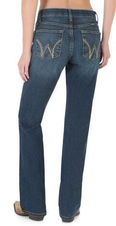 Wrangler Women's Ultimate Riding Jean Q-Baby Cool Vantage Bootcut Jeans, Denim, hi-res