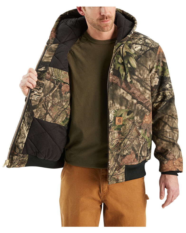 e4fa9978ff963 Zoomed Image Carhartt Quilted Flannel Lined Camo Active Jacket, Multi,  hi-res