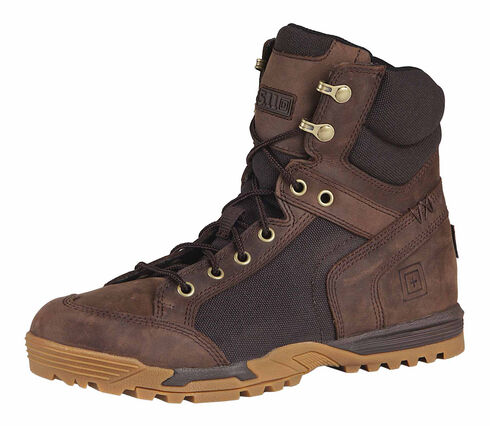 "5.11 Tactical Men's Pursuit Advance 6"" Boots, Distressed, hi-res"
