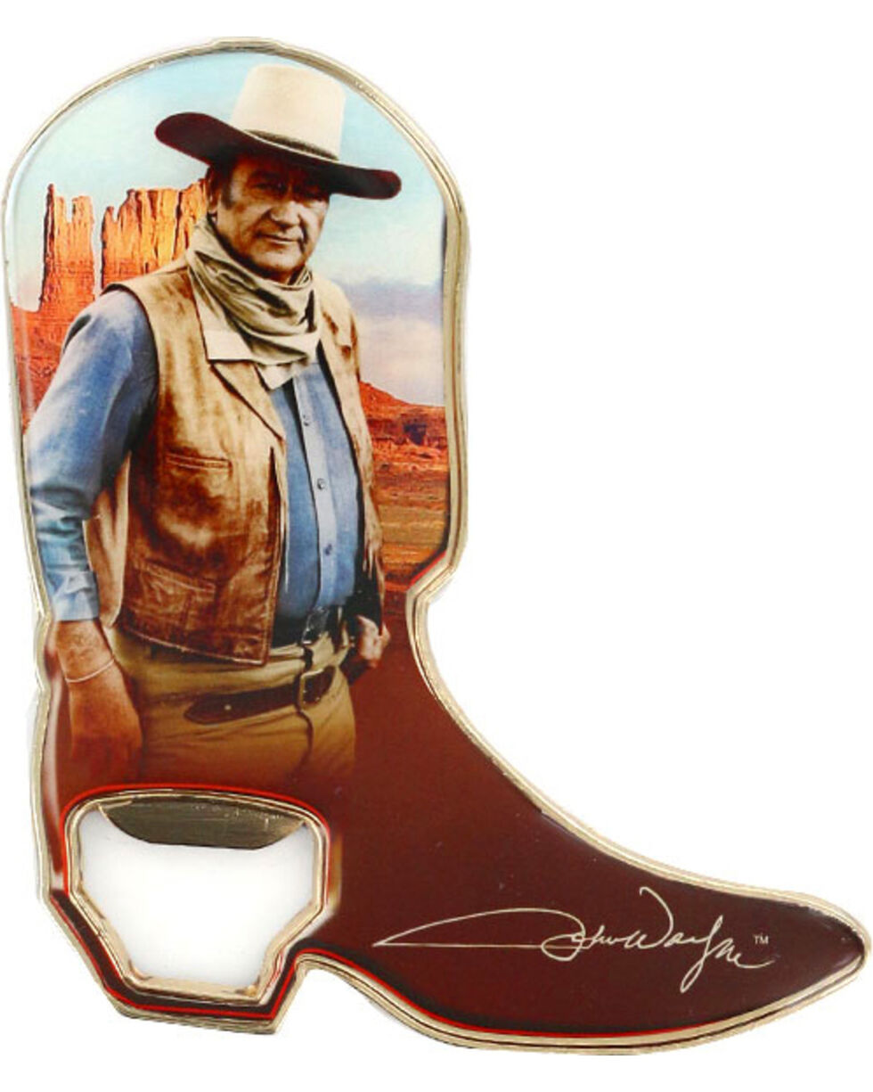John Wayne Collectible Boot Magnet Bottle Opener, Multi, hi-res