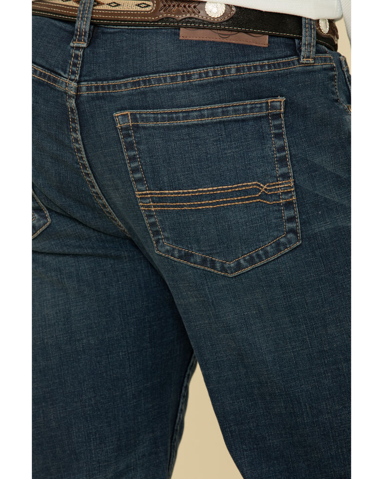 Cody James Men's Saguaro Dark Stretch Relaxed Straight Jeans , Blue, hi-res