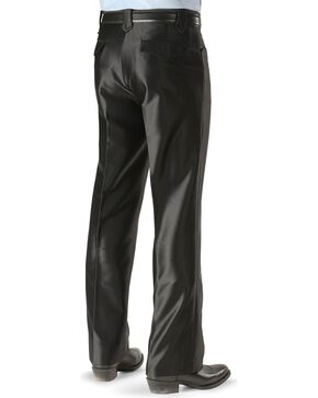 Circle S Boise Western Suit Slacks, Black, hi-res