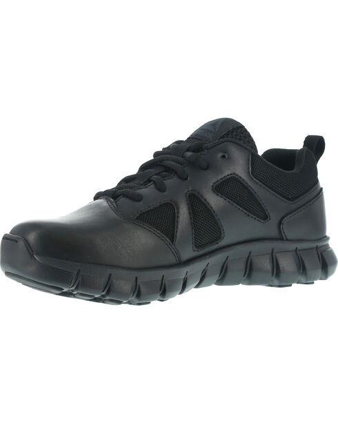 Reebok Women's Sublite Cushion Tactical Oxfords, Black, hi-res