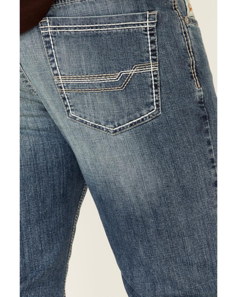 Cinch Men's Ian Rinse Light Performance Stretch Slim Bootcut Jeans , Indigo, hi-res