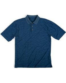 Wrangler Men's Navy Riggs Workwear Polo Shirt , Navy, hi-res