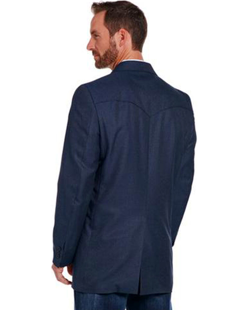 Circle S Men's Navy Carson City Sport Coat , Navy, hi-res