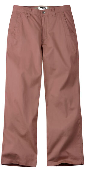 Mountain Khakis Men's Red Lake Lodge Relaxed Fit Twill Pants, Red, hi-res