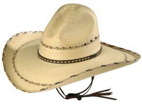 ef3cdda9212 Men s Palm Leaf Cowboy Hats