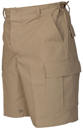 Tru-Spec Men's Khaki BDU Shorts, Khaki, hi-res