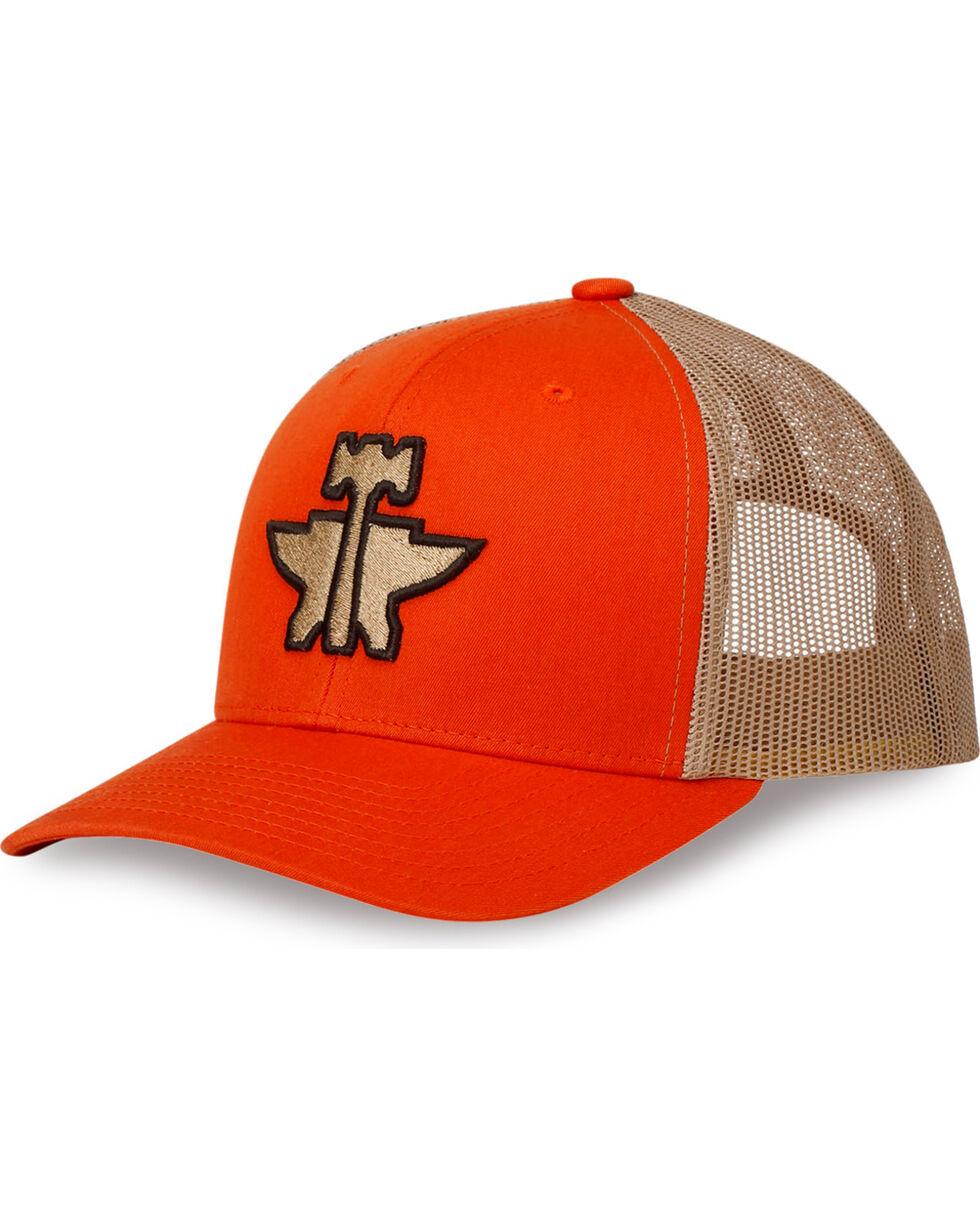 Tin Haul Men's Orange Anvil and Hammer Baseball Cap , Multi, hi-res