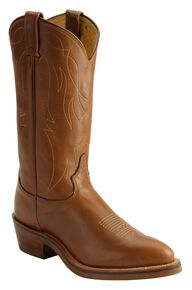 Tony Lama Western Work Boots - Medium Toe, Natural, hi-res