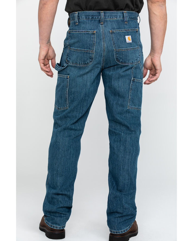 9f2ba2f149d Carhartt Men s Holter Dungaree Relaxed Fit Work Jeans