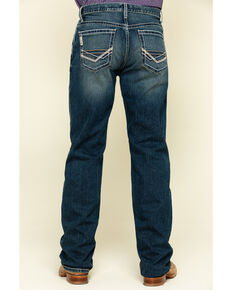 Cinch Men's Grant Performance Relaxed Bootcut Jeans , Indigo, hi-res