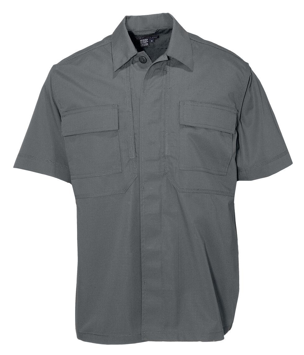 5.11 Tactical Taclite TDU Short Sleeve Shirt - Tall Sizes (2XT - 5XT), Storm, hi-res