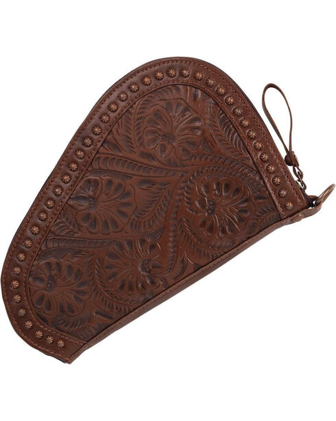 American West Padded Gun Case , Chestnut, hi-res