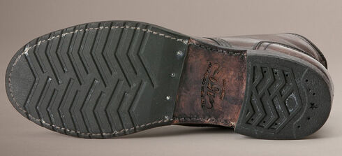 Frye Logan Cap Toe Lace Up Boots, Dark Brown, hi-res