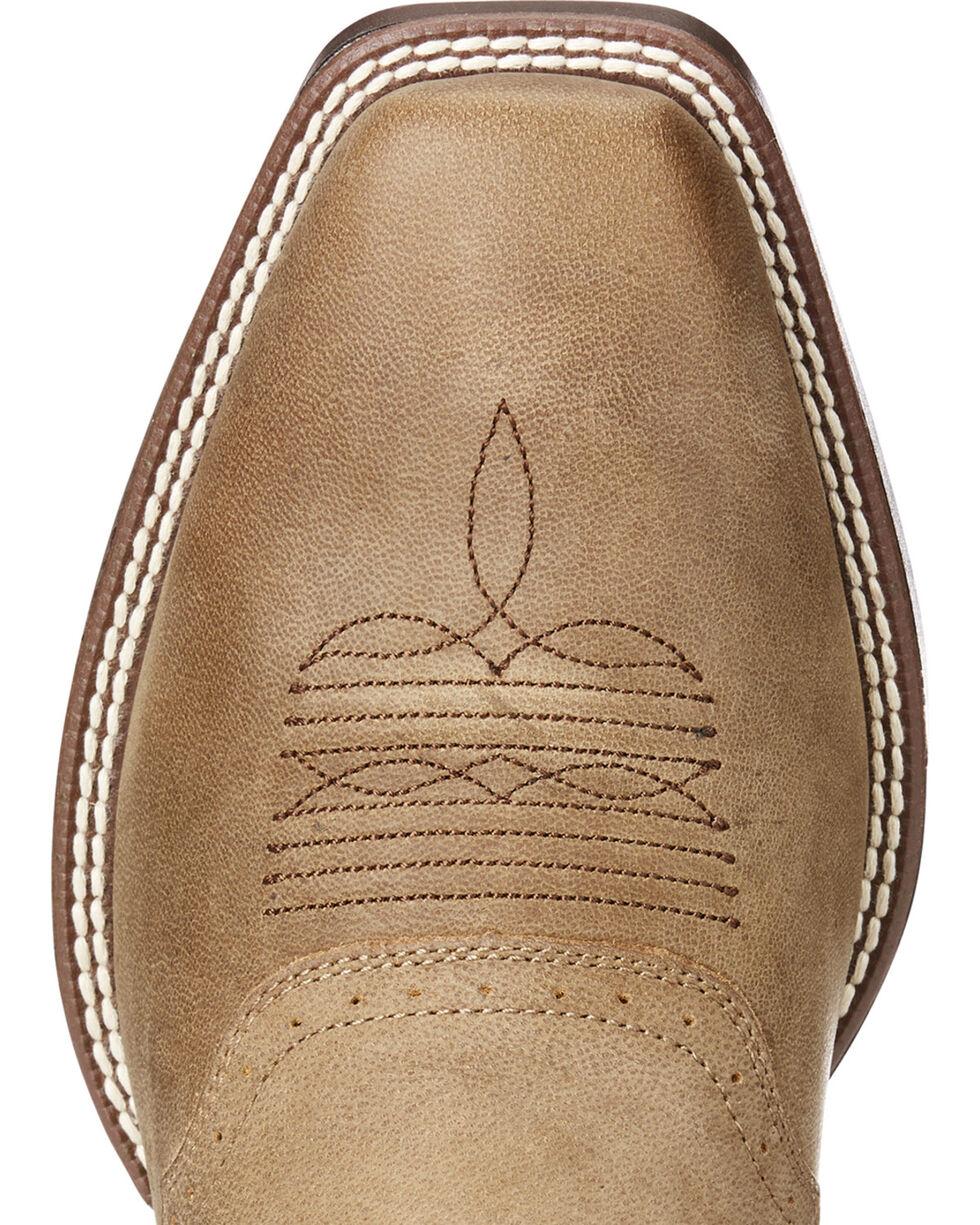Ariat Men's VentTEK Roughstock Boots - Square Toe, Lt Brown, hi-res