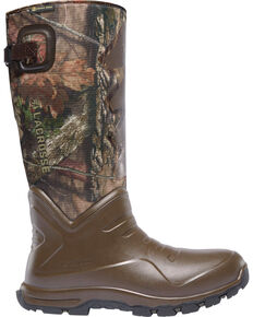 LaCrosse Men's Camo Aerohead Sport Snake Boots - Round Toe, Camouflage, hi-res
