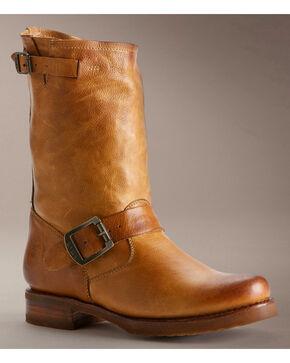 Frye Women's Veronica Shortie Boots - Round Toe, Camel, hi-res