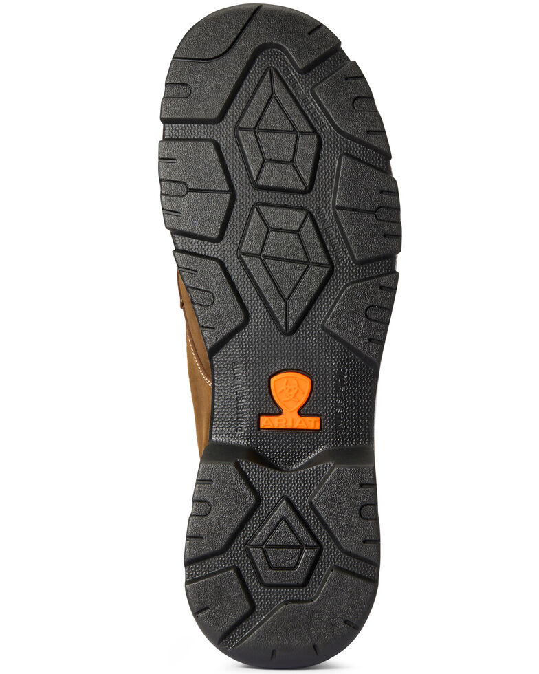 Ariat Men's Edge Lite Metguard Work Boots - Composite Toe, Brown, hi-res