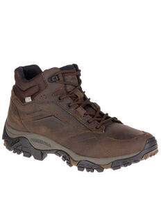Merrell Men's MOAB Adventure Waterproof Hiking Boots - Soft Toe, Brown, hi-res