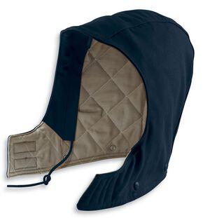 Carhartt Flame Resistant Quilt-Lined Duck Hood, Navy, hi-res