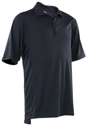 Tru-Spec Men's Navy 24-7 Dri-Release Polo Shirt , Navy, hi-res