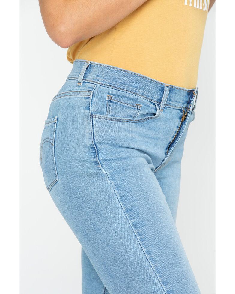 Levi's Women's 711 Skinny Jeans, Blue, hi-res