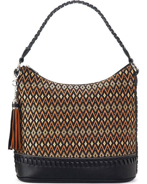 Blazin Roxx Women's Arizona Fabric Zip Tote , Black, hi-res