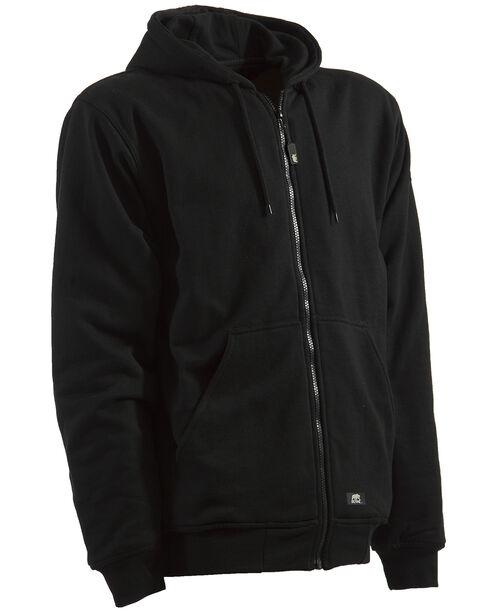 Berne Original Hooded Sweatshirt - 5XL and 6XL, Black, hi-res