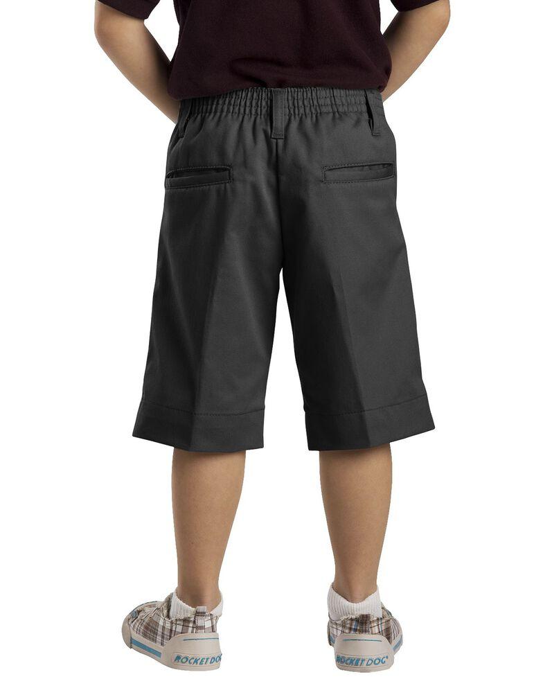 Dickies Girls' Stretch Bermuda Shorts - 16-20, Black, hi-res