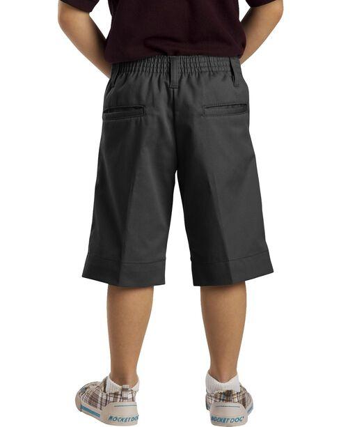 Dickies Junior Girls' Stretch Bermuda Shorts - 15-21, Black, hi-res