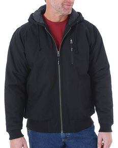 Wrangler RIGGS Workwear Men's Utility Jacket - Tall, Black, hi-res