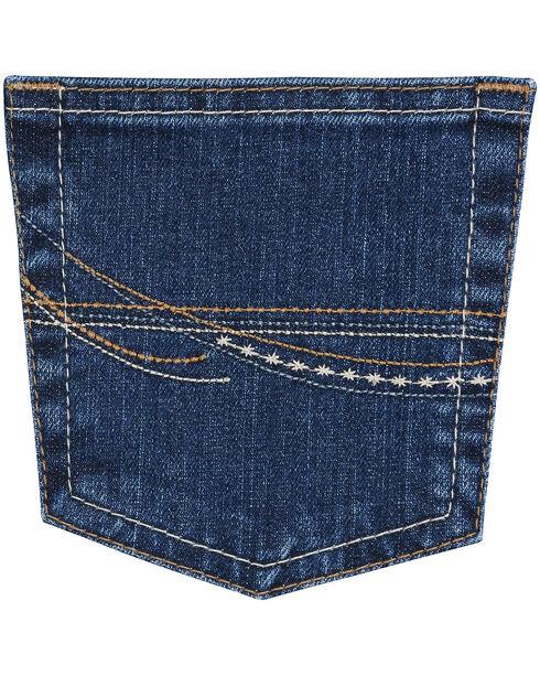 Wrangler Women's As Real As Wrangler Classic Fit Bootcut Jeans, Denim, hi-res