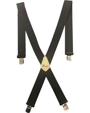 "Berne Men's 2"" Industrial Suspenders , Black, hi-res"