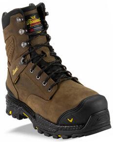 Thorogood Men's Infinity FD Series Waterproof Work Boots - Composite Toe, Brown, hi-res