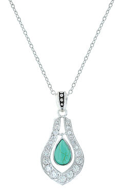 Montana Silversmiths School of Nature Necklace, Turquoise, hi-res