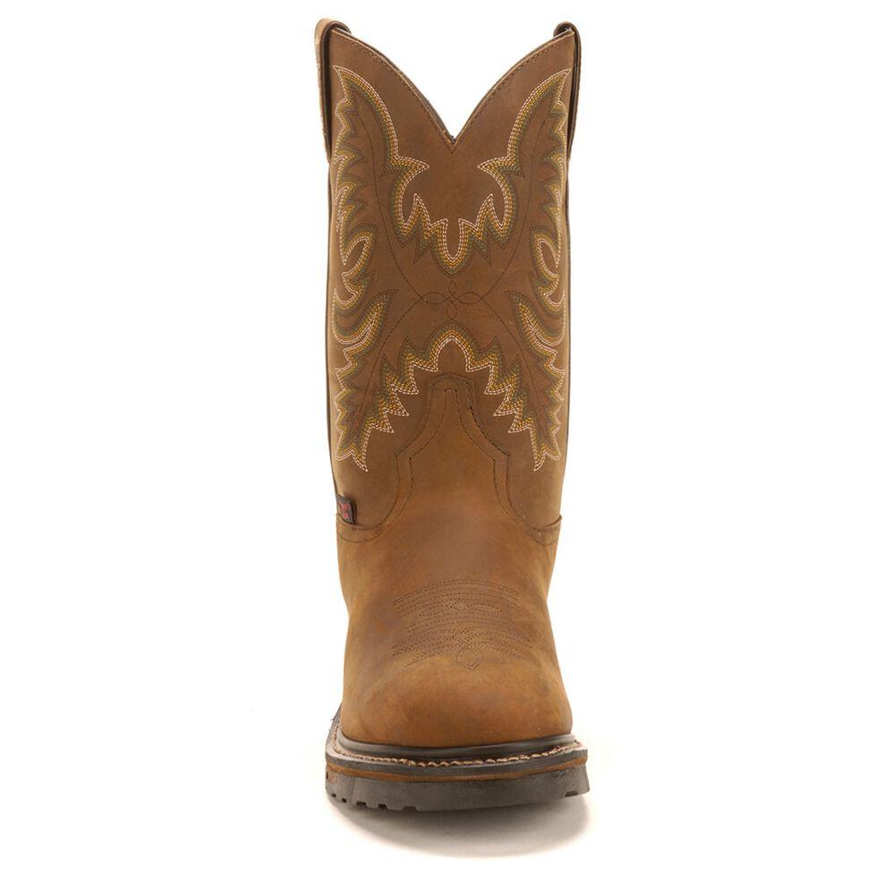 Tony Lama TLX Waterproof Work Boots - Steel Toe, Tan, hi-res