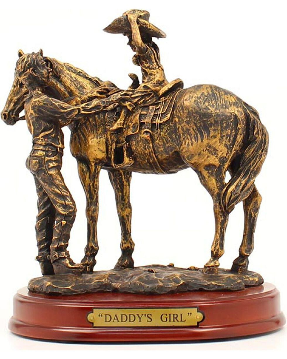 "Western Moments ""Daddy's Girl"" Statue, Brown, hi-res"
