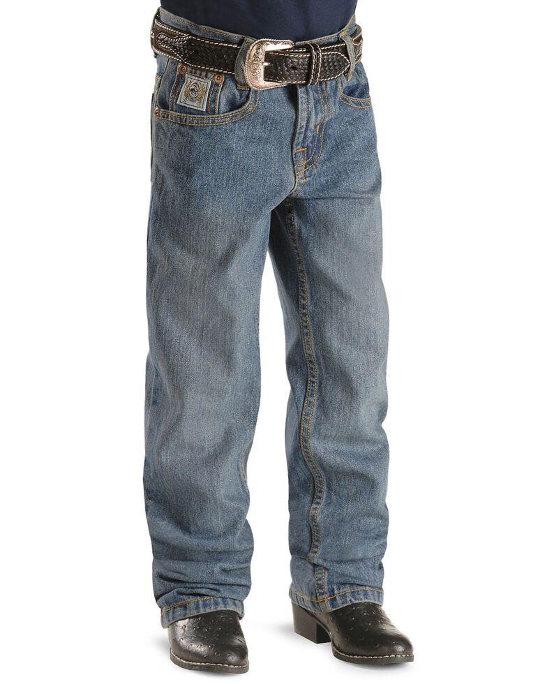 Cinch ® Boys' White Label Jeans - 4-7 Regular, Denim, hi-res