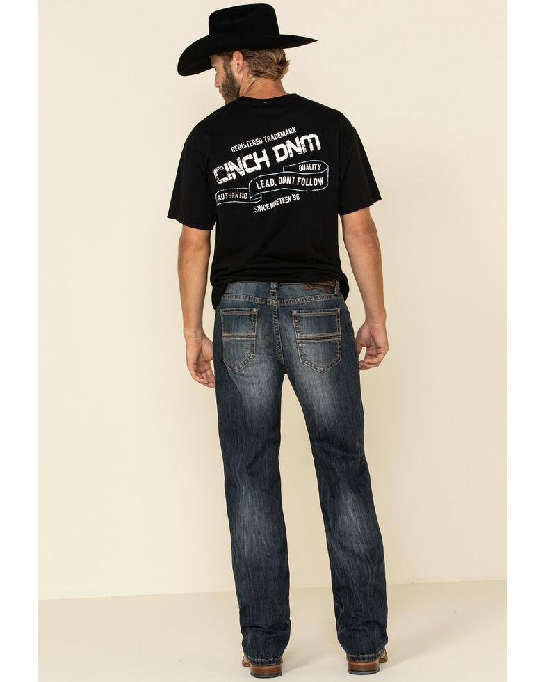 Rock & Roll Denim Men's Dark Vintage Reflex Double Barrel Stretch Relaxed Bootcut Jeans , Indigo, hi-res