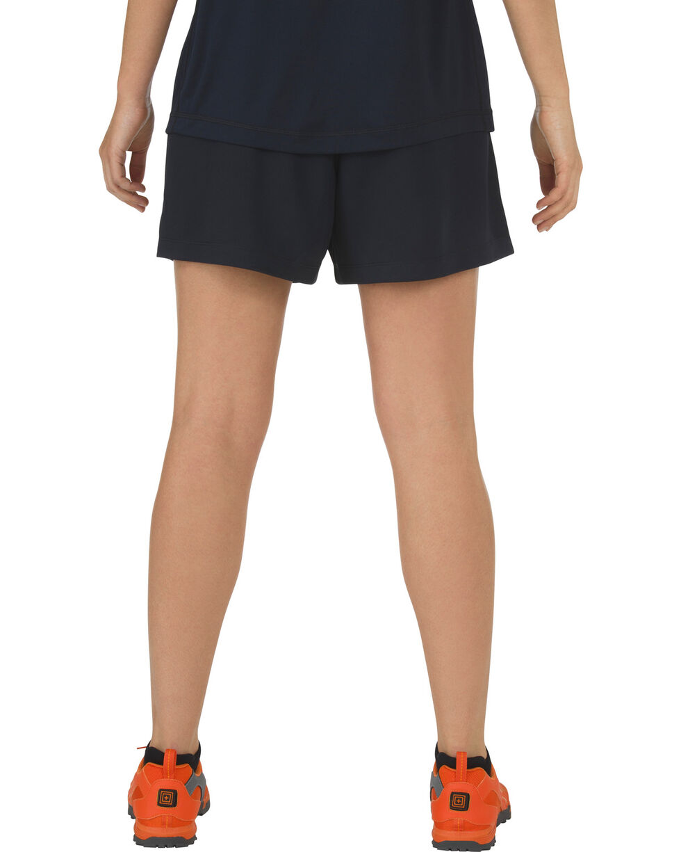 5.11 Tactical Women's Utility PT Shorts, Navy, hi-res