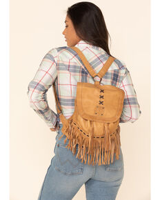 STS Ranchwear Women's Free Spirit Backpack, Tan, hi-res