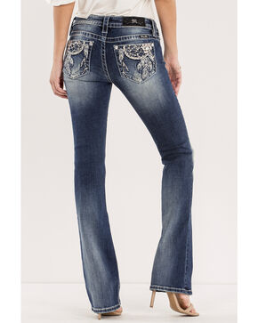 Miss Me Women's Dream Big Mid-Rise Jeans - Boot Cut, Indigo, hi-res