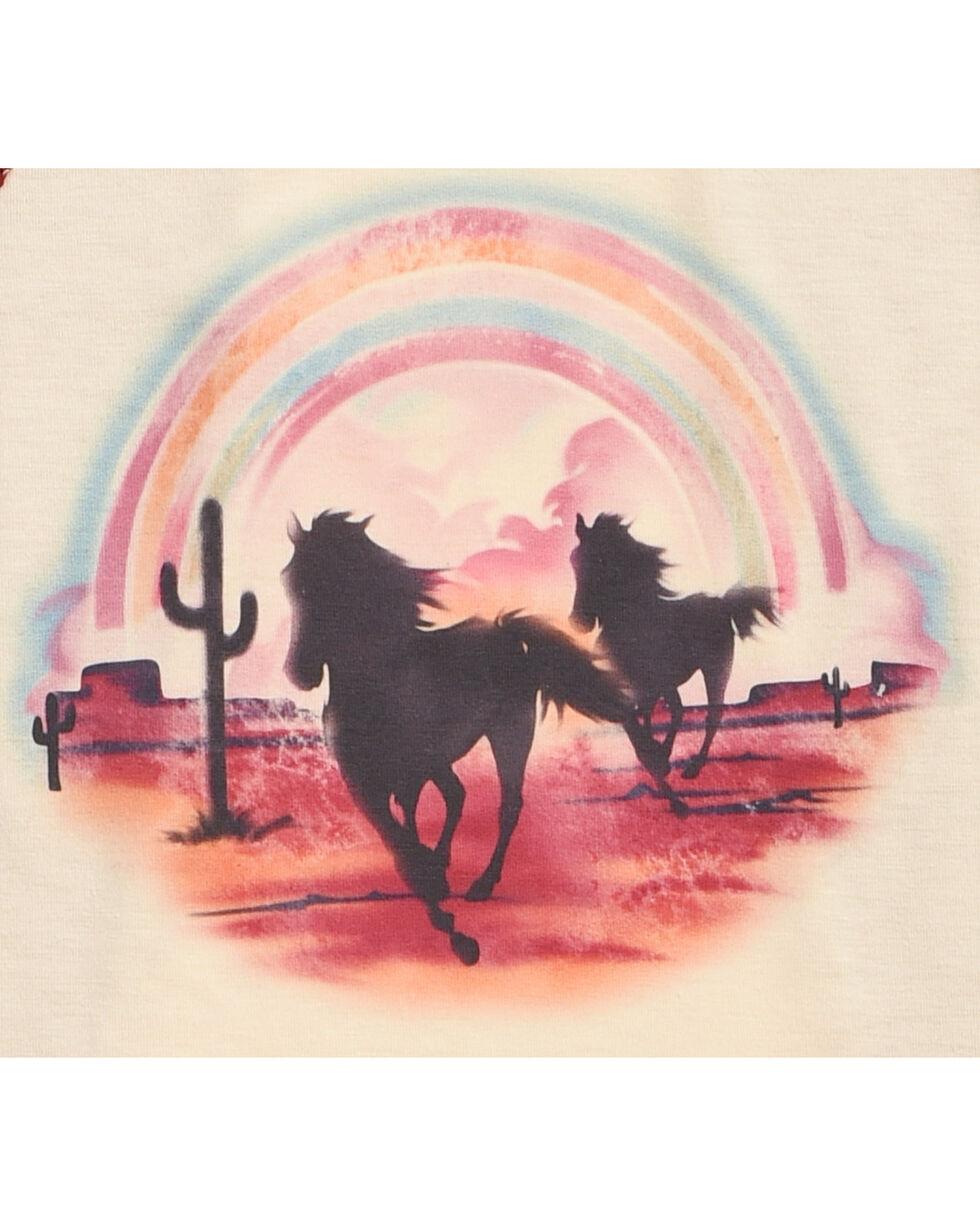 Shyanne Girls' Desert Horses Long Sleeve Shirt, , hi-res